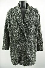 Ivan Grundahl Women`s Coat Padded Collared Woolen Long Jacket Size S