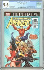 Mighty Avengers #1 CGC 9.6 White Pages (2007) 2058679025