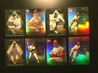 2001 UPPER DECK HOR (8) BASEBALL CARDS COLLECTION. W/ WILLIE MAYS-MINT