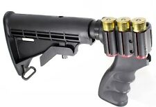 Remington 870 12 Gauge Pistol Grip W/Shell Holder & 6 Position Tactical Stock