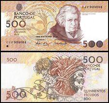 Portugal 500 Escudos Banknote, 1994, P-180g, UNC