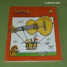 pima Gitarrenschule für junge Gitarrenkünstler von Ekard Lind ©1994 Band 1 Top!