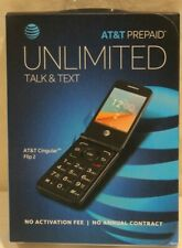 AT&T Prepaid - Cingular Flip 2 - Dark Gray - NO ANNUAL CONTRACT. (BRAND NEW)