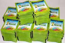 Stickers / Vignettes Panini ~ Coupe Du Monde Bresil 2014 ~ Lot De 50 Pochettes