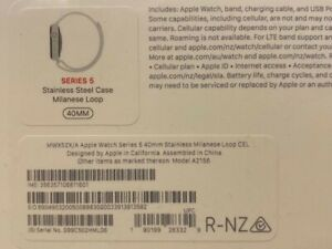 😃Brand new Apple watch: unwanted gift. Series 5, model A2156