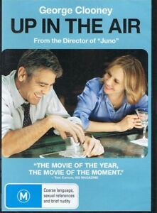 UP IN THE AIR DVD Starring George Clooney NEW & SEALED Free Post