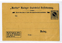 Germany Stamps Scarce Local Card