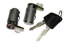 Peugeot 307 2001-08 New Front Passenger Driver Door Lock Barrel Set With 2 Keys