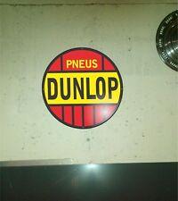 Plaque publicitaire vintage Dunlop 50 cm
