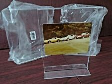 """Set of (3) 51/2""""x71/2"""" Picture Holder Menu Display Stand Acrylic Double Sided"""
