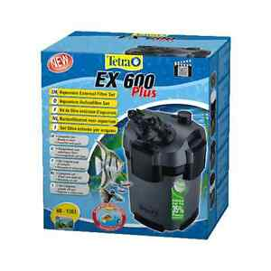 Tetratec EX600 External Filter Fish Tank Filtration Canister Filter Tetra Tec