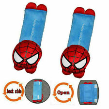 2Pcs Cartoon Super Spider Man Car Seat Belt Cover Shoulder Cushion Pad New