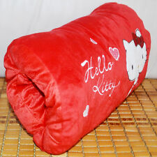 Hello Kitty pillow hand warmer car cushion plush stuffed soft comfort toy gift