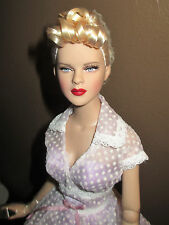Beautiful All Vintage Deeanna Denton, dressed doll with Tonner stand. bend wrist