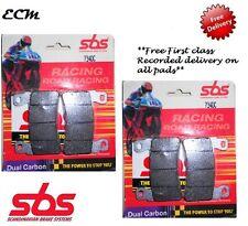 HONDA CBR600RR 2003 - 2004 SBS  FRONT BRAKE PADS - Dual Carbon  734DC