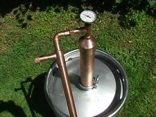 "2""COLUMN ETHANOL MOONSHINE COPPER WHISKEY STILL OLYMPIC BEATER!! MOONSHINE"