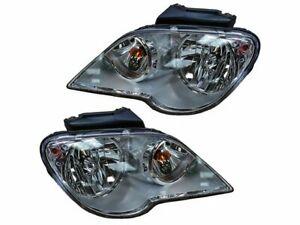For 2007-2008 Chrysler Pacifica Headlight Assembly Set 34143RH