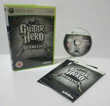 Guitar Hero Metallica Solus (Xbox 360) PAL Disc Mint Complete Brand New Case J1L