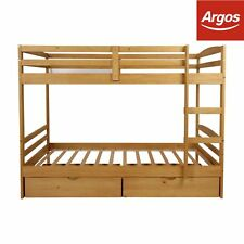 Argos Home Josie Bunk Bed with Drawers - Pine