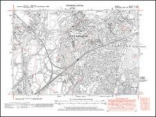 Weybridge, Addlestone in 1938 - old map Surrey 11-SE