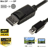 4K Displayport 1.2 Cable 1.8M 5M Mini Display Port to DP Male to Male Adapter