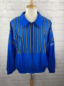 RARE Vintage Reebok Shaquille O'Neal Orlando Magic Windbreaker Jacket Mens Sz L
