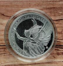 2021 Queen's Virtues Victory 1oz Silver Bullion coin in capsule St Helena