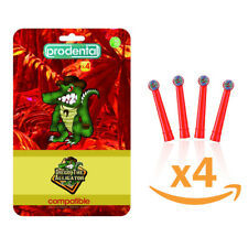 Brossettes Enfants Compatibles Oral-B® - Diego l'Alligator PRODENTAL™ x 4 unités