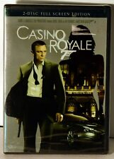 Casino Royale (2-Disc Full Screen Edition) New Factory Sealed FREE SHIPPING !!!