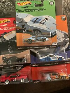 2019 Hot Wheels Car Culture Silhouettes Set Of 5 Ready To Ship