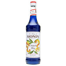 Monin Blue Curacao Syrup 70cl Bottle - Blue Curacao Syrup for Cocktails