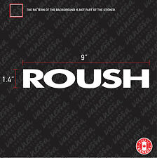 2X ROUSH RACING FORD MUSTANG car sticker vinyl decal