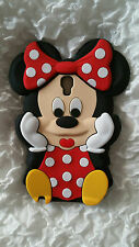 DE-SILICONE CASE MINNIE RED for Samsung Galaxy NOTE 3 NEO N7505