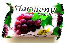 1 BAR FRUITAPONE PLUS HARMONY GRAPE FRUITY SOAP BATH EXTRA MOISTURIZING HERB 75g