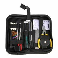 Guitar Repair Tools Kit Grinding Crowning Fret File Luthier Maintenance Care Set