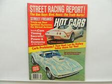 May 1977 Hot Cars Magazine Street Racing Cobra Corvette El Hombre Mustang L10283