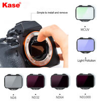 Kase Built-in MCUV/Neutral Density/Night Filter for Sony A7R4/A7III/A7/A9 Camera