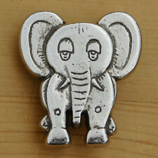 Vintage Elephant Belt Buckle - 1970s