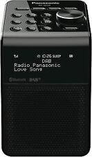 Panasonic RFD20U Portable FM/DAB Radio - Black