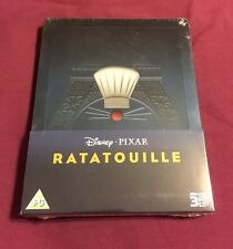 OOP/OOS Ratatouille UK Zavvi Exclusive 3D+2D Blu-ray Steelbook Print Run 3000