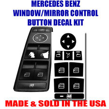 MERCEDES BENZ WINDOW BUTTON DECALS STICKERS W204 C250 C300 C350 US 2018
