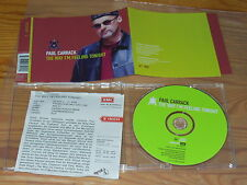 PAUL CARRACK - THE WAY I'M FEELING TONIGHT / MAXI-CD 1997 MINT! & PROMO-INFO