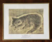 Tsugouhara Foujita Petit Chat Metropolitan Museum Of Art Print Nice Gold Frame