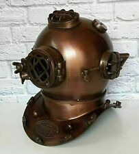 Antique Boston Scuba Diving US Navy Mark V Deep Vintage Divers Diving Helmet SCA