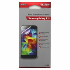 WriteRight 2pk Fitted Screen Protector for Samsung Galaxy S5