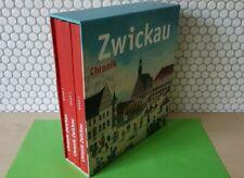 Buch -- Chronik Zwickau --  Stadtgeschichte / Heimatliteratur 3 Bände + Karten !