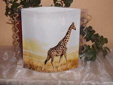 Tischlicht/Windlicht Giraffe in Wildnis-Afrika