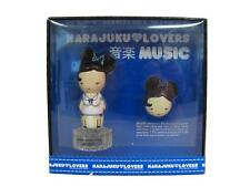 HARAJUKU LOVERS MUSIC 2pc Set : 1.0 Oz EDT Spray + 0.04 Oz Solid Perfume (NIB)