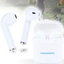 GRUNDIG Earbuds In Ear Kopf Ohr Hörer Bluetooth I Phone Headset Ladebox Kabellos