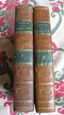 1826 Discours du Général Foy Notice tissot 2 vol EO politique Empire Napoléon
